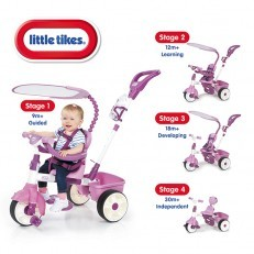 Little Tikes 4 in 1 Trike Basic Edition -Pink