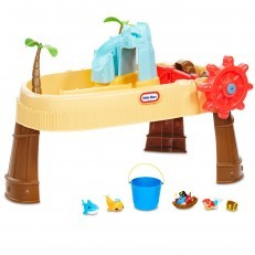 Little Tikes Island Wavemaker Water Table + FREE fishing toy