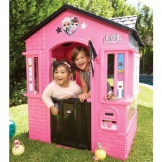 Little Tikes L.O.L Surprise ! Cottage Playhouse with Glitter