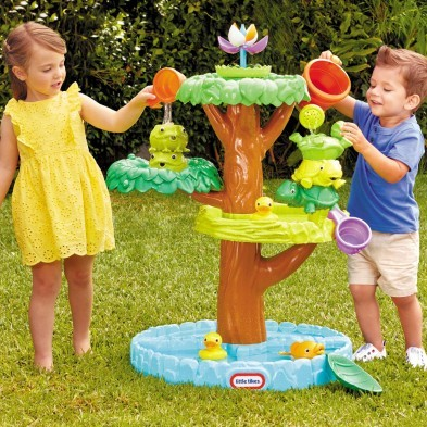Little Tikes Magic Flower Water Table + FREE stack pour buckets