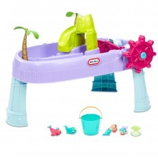 Little Tikes Mermaid Island Wavemaker Water Table + FREE fishing