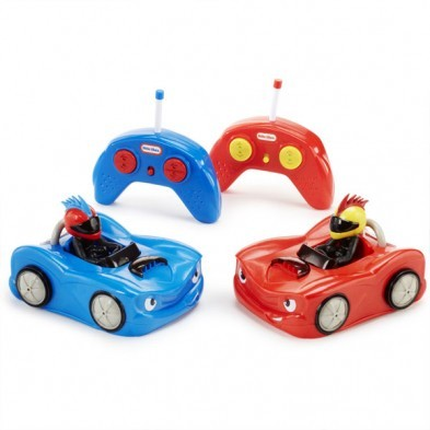 Little Tikes Remote Control Bumper Cars Set of 2