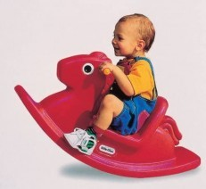 Little Tikes Rocking Horse - Red