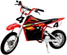 Razor MX500 Dirt Rocket red dirt bike