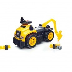 Mega Bloks CAT Ride On with Excavator