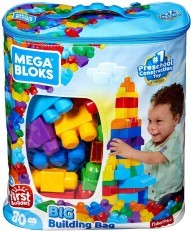 Mega Bloks First Builders Big Building Bag 80pcs