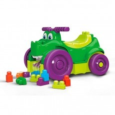 Mega Bloks First Builders Ride n Chomp ride on