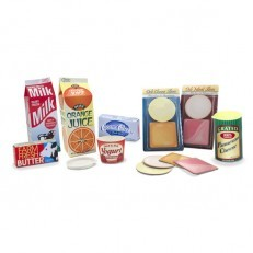 Melissa & Doug Fridge Fillers play food groceries