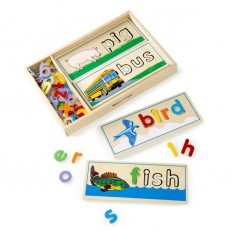 Melissa & Doug Classic Wooden See & Spell