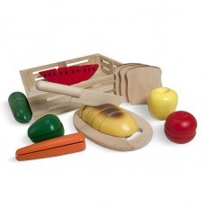 Melissa & Doug Cutting Food Wooden Play Food Set