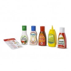 Melissa & Doug Favorite Condiments Play Food Set