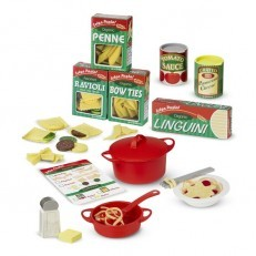 Melissa & Doug Prepare & Serve Pasta Set Felt Play Set