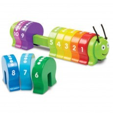 Melissa & Doug Wooden Counting Caterpillar