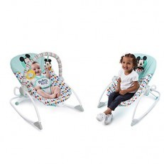 Mickey Mouse Happy Triangles Infant To Toddler Rocker