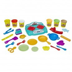 Play Doh Kitchen Creations Stovetop Super Playset