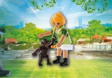 Playmobil Playmo Friends: Zookeeper with Baby Gorilla