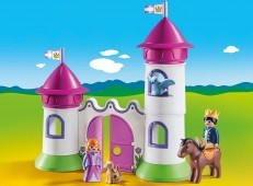 Playmobil 1.2.3 Castle with Stackable Towers 9389