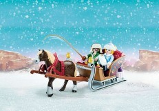 Playmobil Spirit Riding Free Winter Sleigh Ride 70397