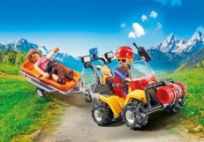 Playmobil Action Mountain Rescue Quad 9130