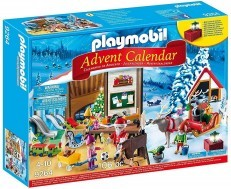 Playmobil Advent Calendar Santas Workshop 9264