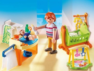 Playmobil Baby Room with Cradle 5304