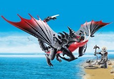 Playmobil Dreamworks Dragons Deathgripper with Grimmel 70039