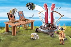 Playmobil Dreamworks Dragons Gobber The Belch w/Sheep Sling 9461