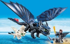 Playmobil Dreamworks Dragons Hiccup Toothless Baby Dragon 70037