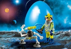 Playmobil Easter Egg Space Agent with Robot 9416