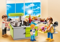 Playmobil Family Kitchen Carry Case 9543