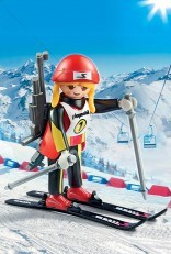 Playmobil Female Biathelete 9287