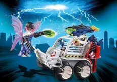 Playmobil Ghostbusters Spengler with Cage Car 9386