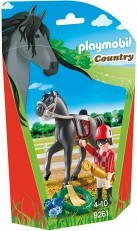 Playmobil Jockey Building Figure 9261