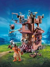 Playmobil Knights Mobile Dwarf Fortress 9340