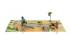 Playmobil Motorcross Play Map 9329