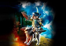 Playmobil Novelmore Crossbowman with Wolf 70229