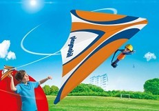 Playmobil Orange Hang Glider 9205