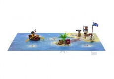 Playmobil Pirate Adventure Play Map 9328