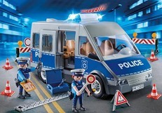 Playmobil Policeman with Van 9236