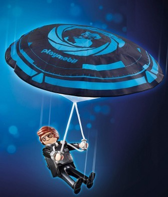 Playmobil Movie Rex Dasher with Parachute 70070