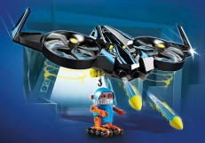 Playmobil Movie Robotitron with Drone 70071