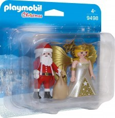 Playmobil Santa and Christmas Angel 9498