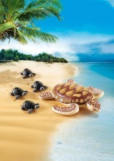 Playmobil Seaturtle with Babies 9071