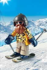Playmobil Skier with Poles 9284