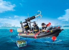 Playmobil Tactical Unit Boat 9362