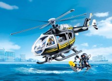 Playmobil Tactical Unit Helicopter 9363