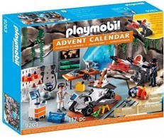 Playmobil Top Agents Advent Calendar 9263