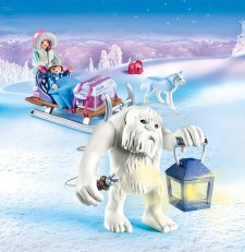 Playmobil Magic Yeti with Sleigh 9473