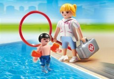 Playmobil Pool Supervisor