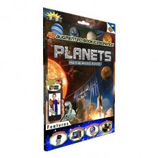 Popar 3D Augmented Reality Smart Book - Planets
